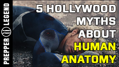 5 Hollywood Myths about Human Anatomy