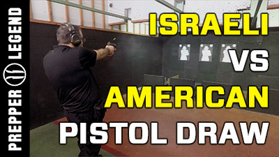 Israeli vs American Pistol Draw Technique