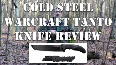 Cold Steel Warcraft Tanto Knife Review