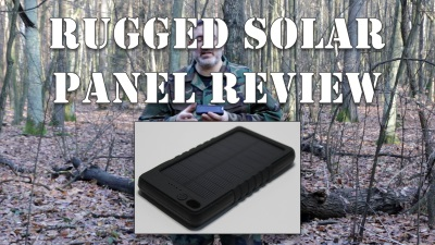Rugged Solar Panel Charger Review