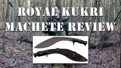 Royal Kukri Machete Review