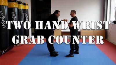 Two Hand Wrist Grab
