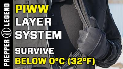 PIWW Layer System Survive Below 0°C (32°F)